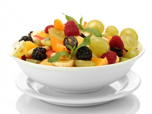 Cinco frutas de temporada para la Navidad.